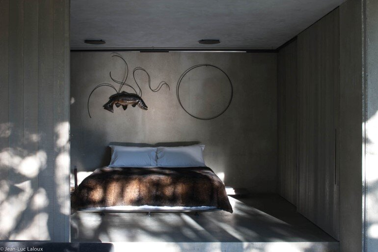 Fearon Hay Architects, bedroom, interiors