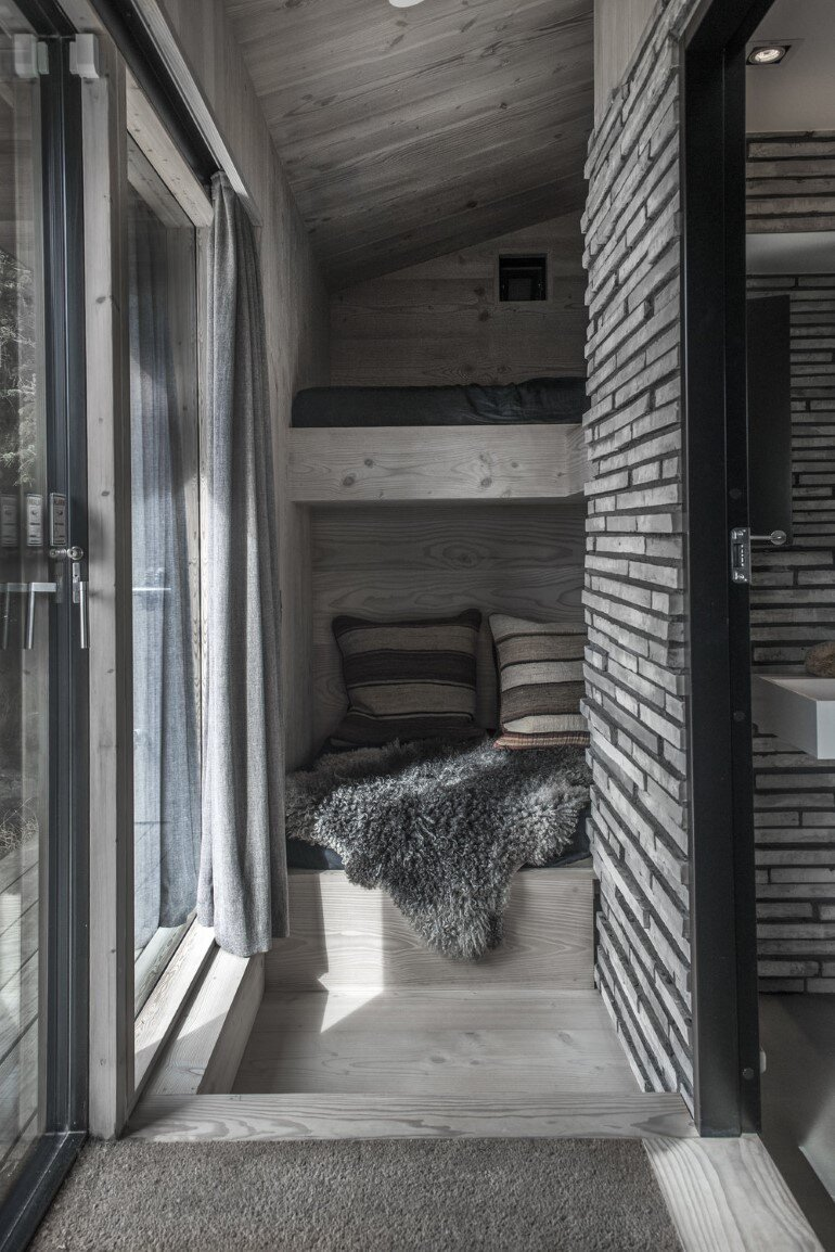 This Summer Cottage Was Designed as a Solid Wooden Block (7)