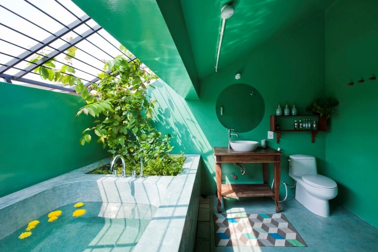 Tropical Suburb House - Revisits the Vernacular South East Asian Stilt House Typology (18)