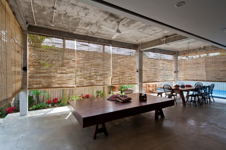 Tropical Suburb House - Revisits the Vernacular South East Asian Stilt House Typology (7)