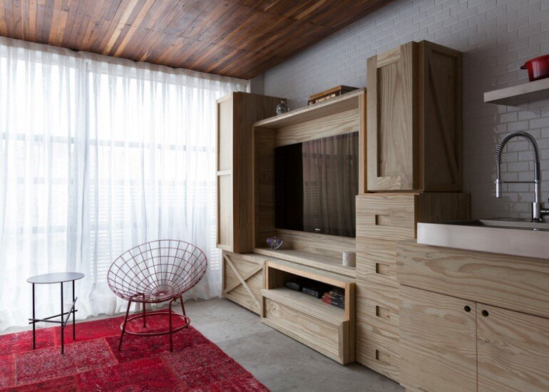 Two Story Apartment With Clever Design Solutions  Sao Paulo (3)