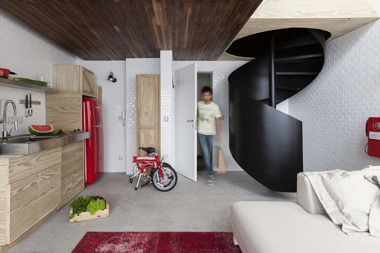 Two Story Apartment With Clever Design Solutions  Sao Paulo (8)