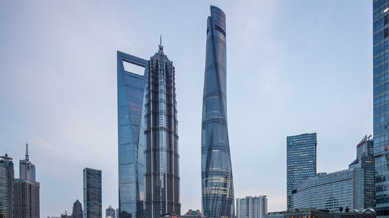 632 meter-tall Shanghai Tower Ranks as China's Tallest Building (3)