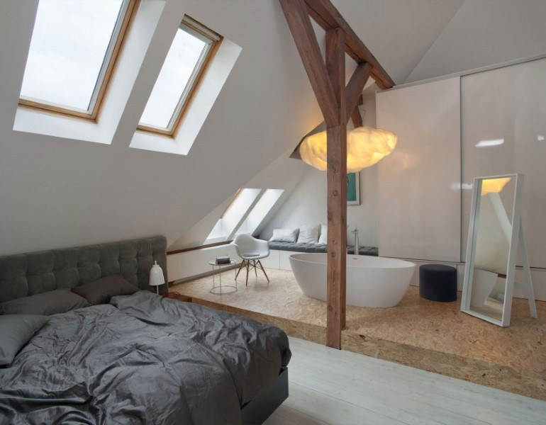 Attic Renovation in Poznań, Poland by Cuns Studio (10)