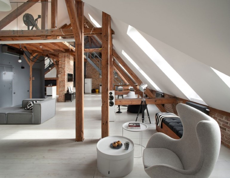 Attic Renovation in Poznań, Poland by Cuns Studio (7)