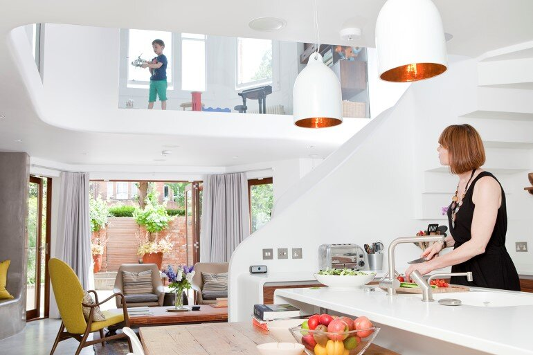 Complete renovation of a Victorian terrace house, West Hampstead (1)