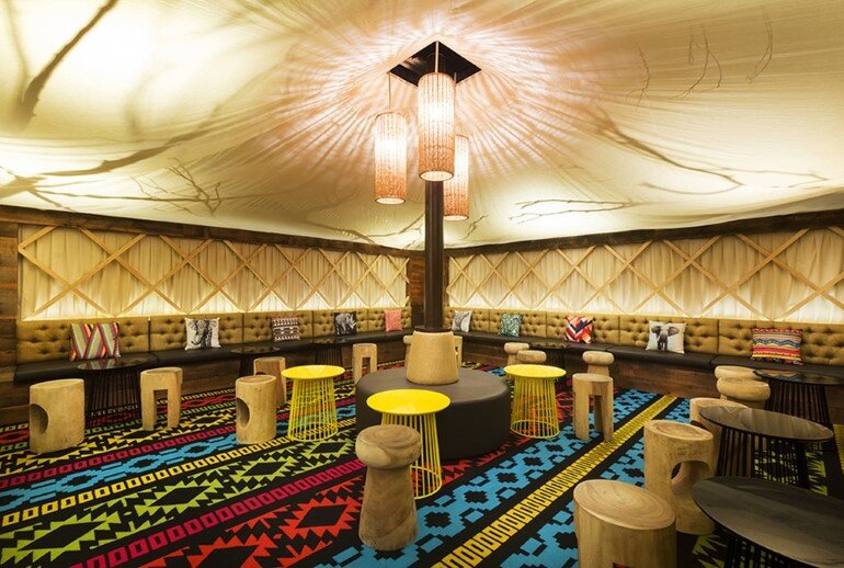 Glamp Cocktail Bar Was Designed in African Style by Studio Equator (4)
