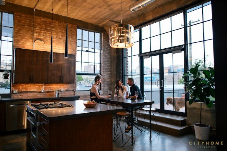 Industrial Loft With Gothic Accents in Salt Lake City (11)