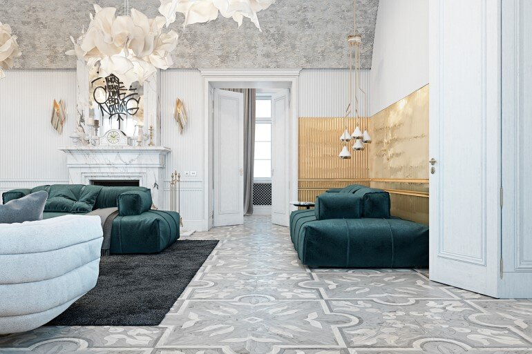 Italian Countryside Residence Decorated in a Classic and Contemporary Style (2)