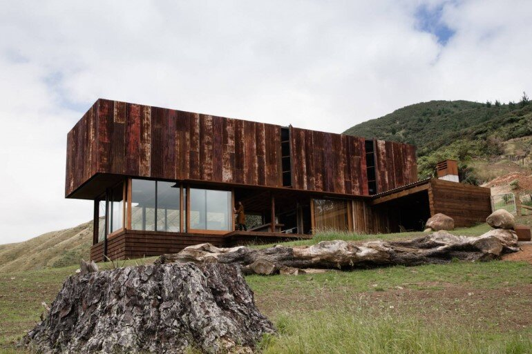 K Valley House - A Retreat for Film Makers by Herbst Architects (3)