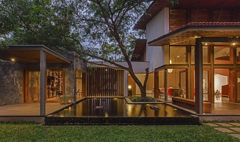 Krishnan house by Khosla Associates (1)