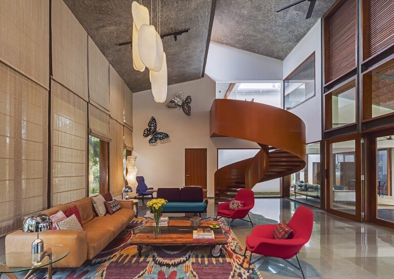 Krishnan house by Khosla Associates (5)