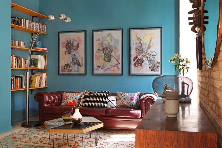 Loft in Valencia - Unmistakable Bohemian Bourgeois Décor (1)