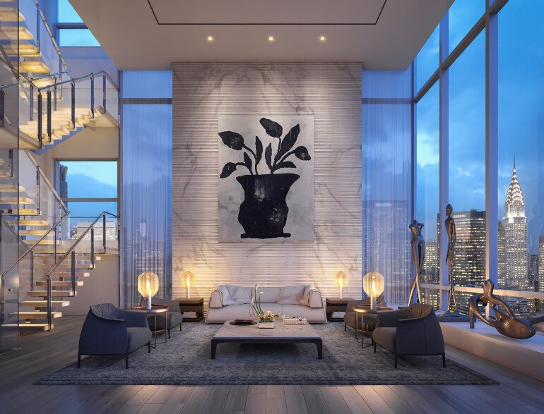 Madison Avenue Penthouse by ODA Architecture (1)