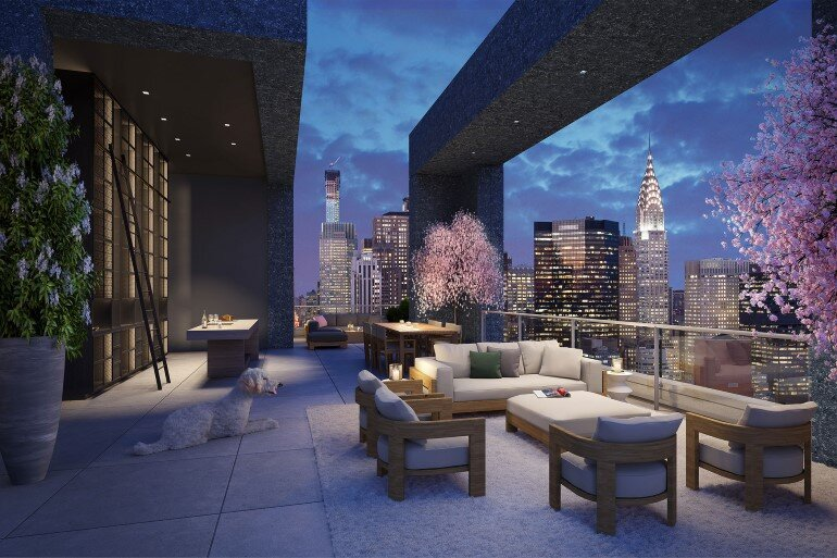 Madison Avenue Penthouse by ODA Architecture (10)
