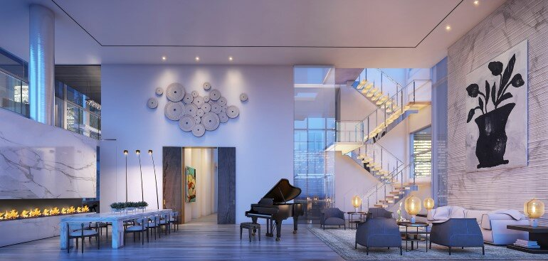 Madison Avenue Penthouse by ODA Architecture (4)