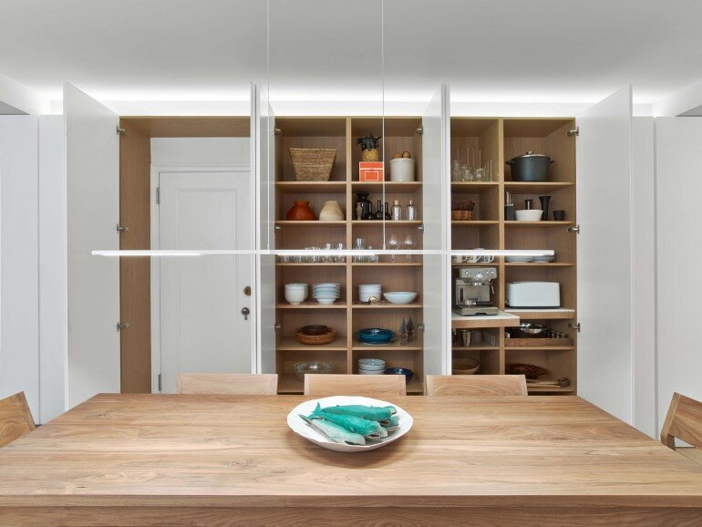 Minimalist Design and Organic Touches in Central Park West Apartment (10)
