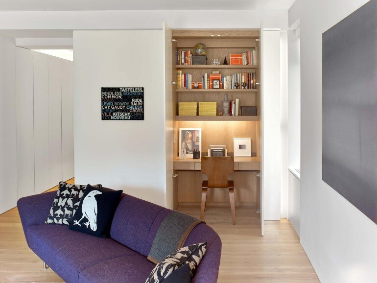 Minimalist Design and Organic Touches in Central Park West Apartment (3)