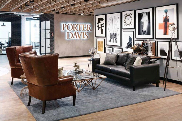 New Office Space for Porter Davis, a Housing Company in Melbourne (1)