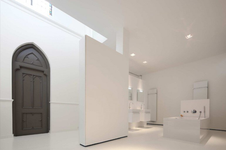 Old Catholic Church Converted into a Spacious House (11)