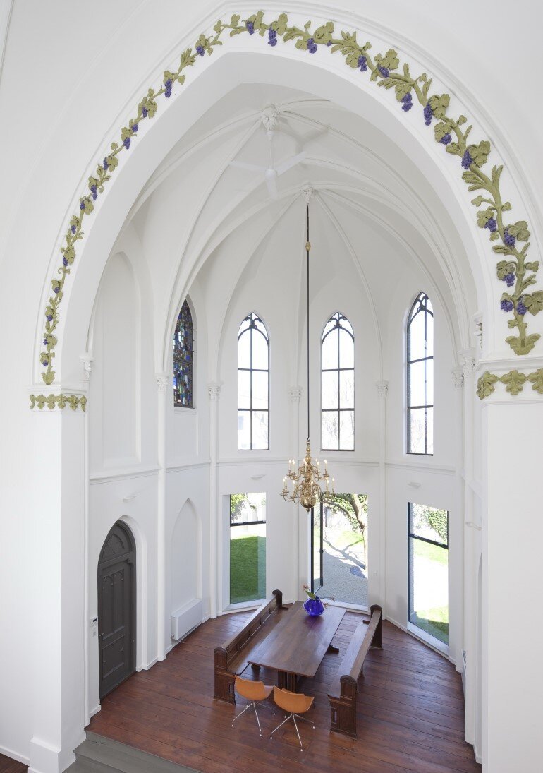 Old Catholic Church Converted into a Spacious House (17)