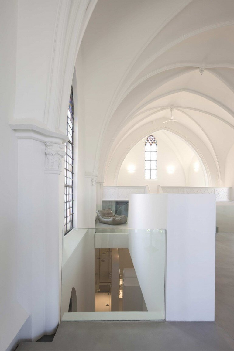 Old Catholic Church Converted into a Spacious House (7)