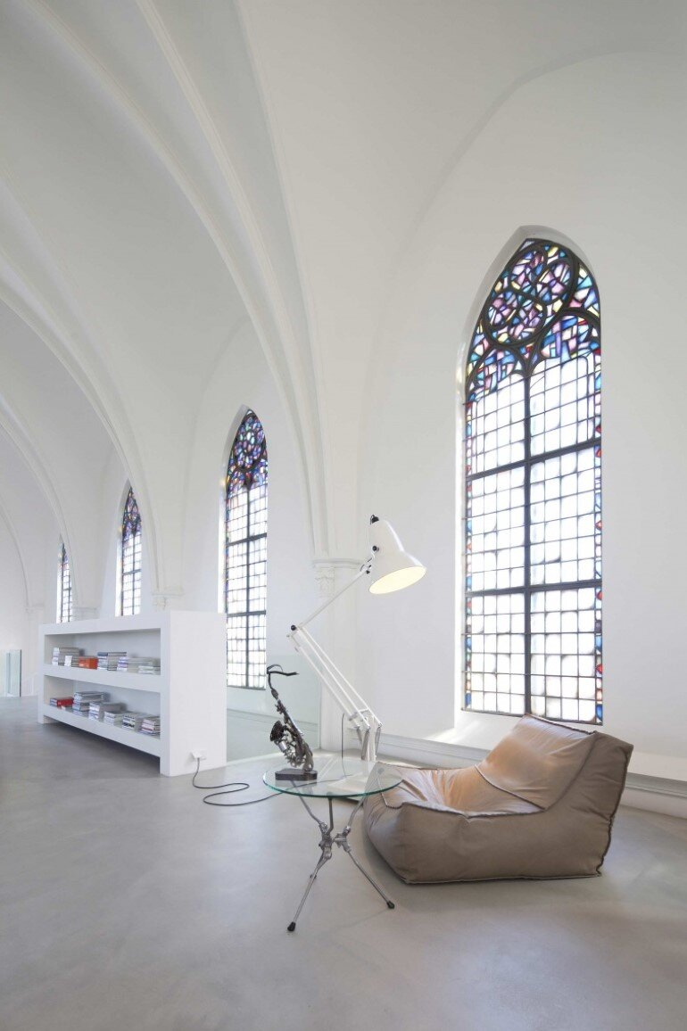 Old Catholic Church Converted into a Spacious House (8)