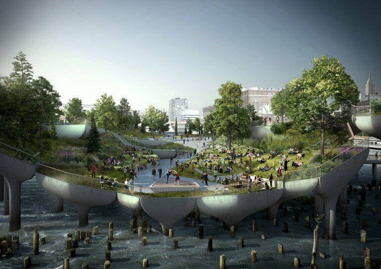 Pier 55 is a New Park and Performance Space in the Hudson River (3)