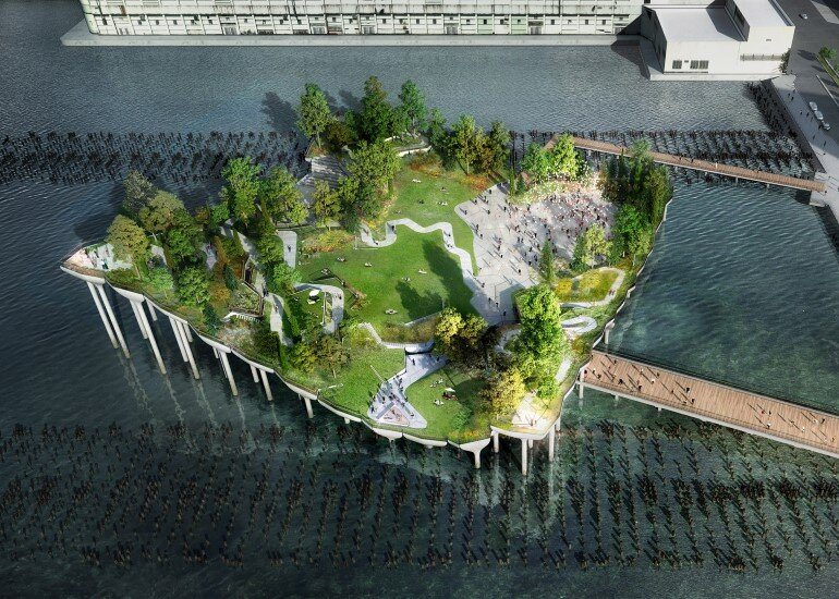 Pier 55 is a New Park and Performance Space in the Hudson River (4)