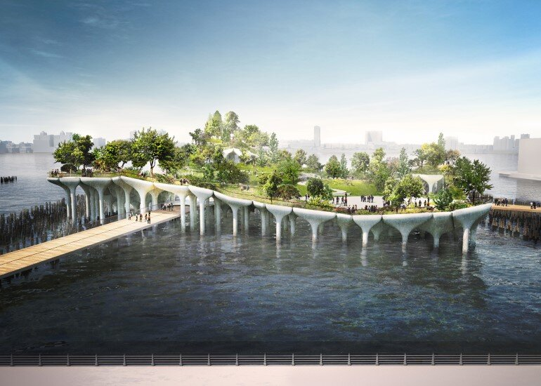 Pier 55 is a New Park and Performance Space in the Hudson River (5)