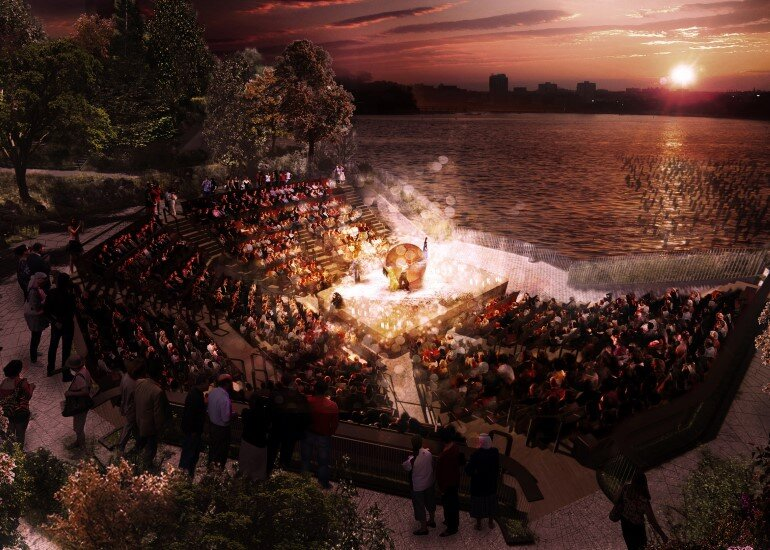 Pier 55 is a New Park and Performance Space in the Hudson River (8)
