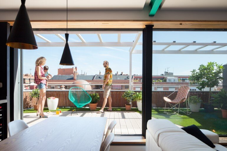 The apartment Zafra is an Oasis with Mediterranean Ambiance in Downtown Madrid (4) (Custom)