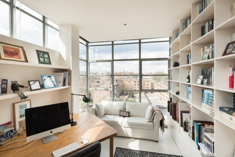 home office, Evans Davies Architects