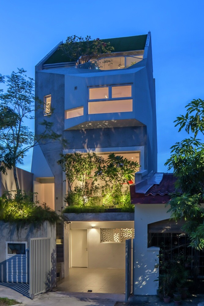This Open House Gives You the Feeling That You Are in a Boundless Garden (2)