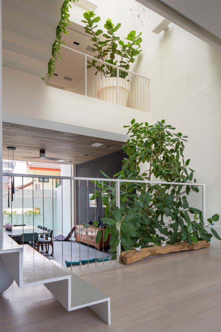 This Open House Gives You the Feeling That You Are in a Boundless Garden (4)
