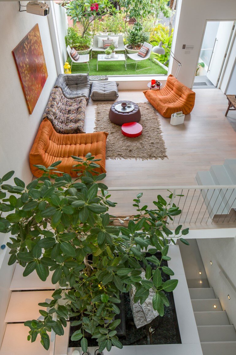 This Open House Gives You the Feeling That You Are in a Boundless Garden (6)