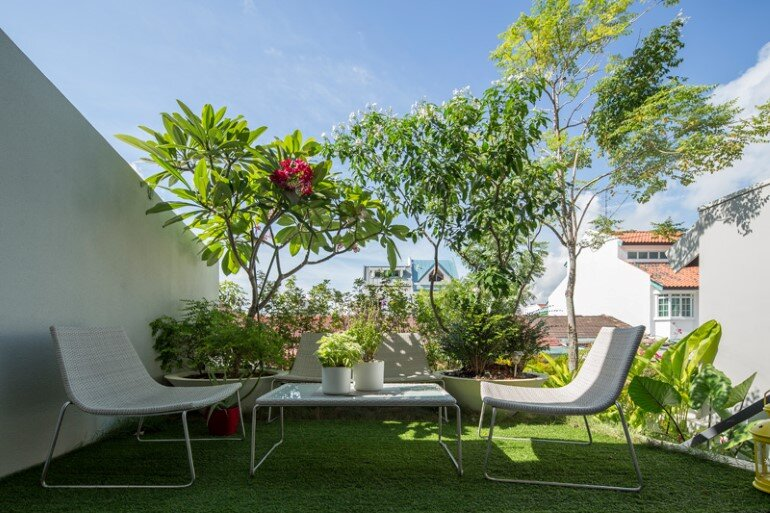 This Open House Gives You the Feeling That You Are in a Boundless Garden (8)