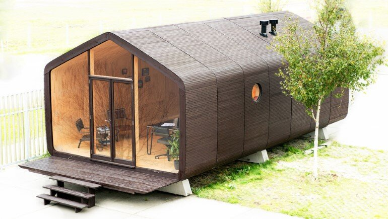 Wikkelhouse is a Special Little House, Made Out of Cardboard (11)