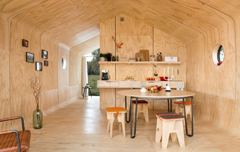 Wikkelhouse is a Special Little House, Made Out of Cardboard (14)