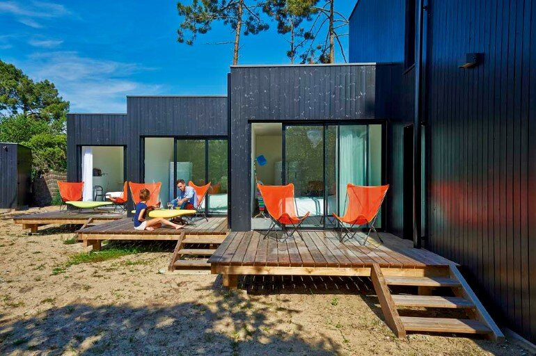 Wood Frame House in Cap Ferret by S+M Architectes (10)