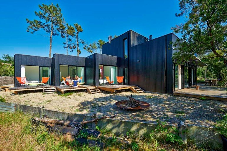 Wood Frame House in Cap Ferret by S+M Architectes (11)