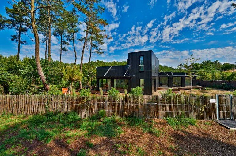 Wood Frame House in Cap Ferret by S+M Architectes (15)