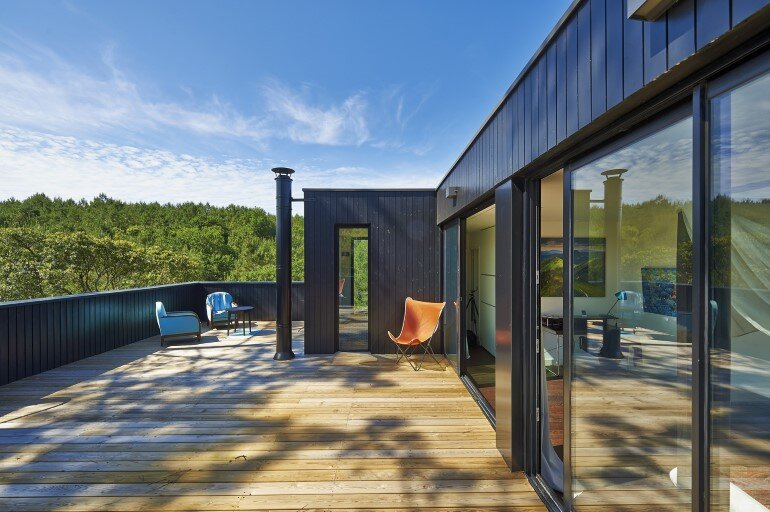 Wood Frame House in Cap Ferret by S+M Architectes (7)
