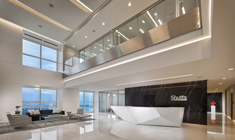 Amicon Construction Completes New Shutts & Bowen Law Office in Miami (11)