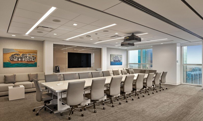Amicon Construction Completes New Shutts & Bowen Law Office in Miami (7)