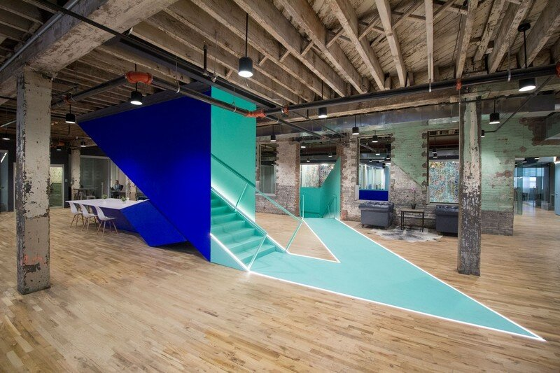 Coworkrs Offices - New Life for an Industrial Building in Brooklyn (1)