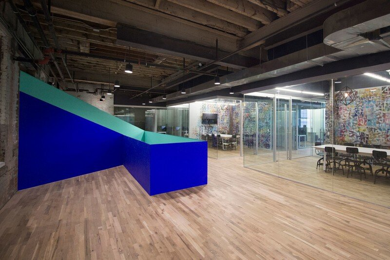Coworkrs Offices - New Life for an Industrial Building in Brooklyn (6)