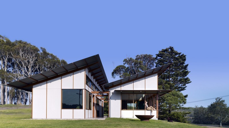 Dogtrot House by Dunn & Hillam Architects (1)
