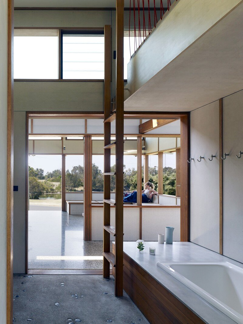 Dogtrot House by Dunn & Hillam Architects (8)