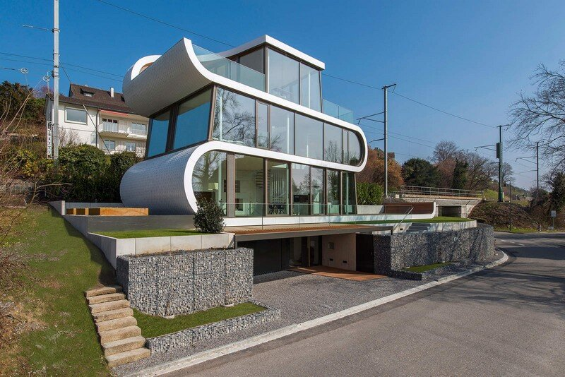 Exclusive Family House with Striking Exterior and Breathtaking Views Across Lake Zurich (1)